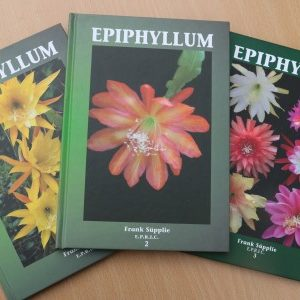 Book: Epiphyllum 1, 2 & 3 signed by Frank Supplie